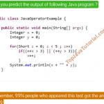 Java quiz -1