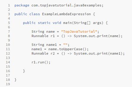 java lambda example