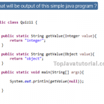 Java Quiz 11