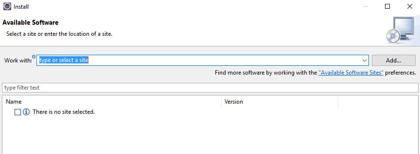 Add Scala IDE update site 1