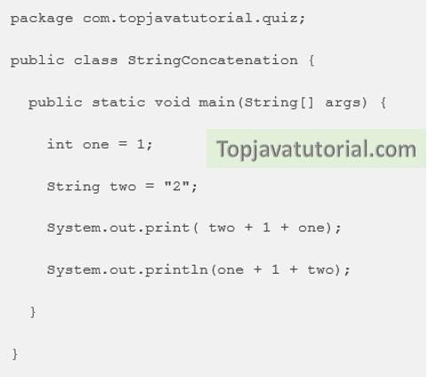 string concatenation quiz