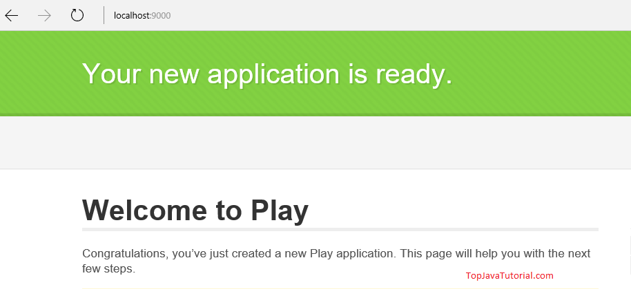 Play application