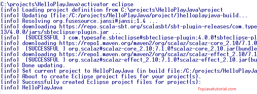 activator eclipse for play