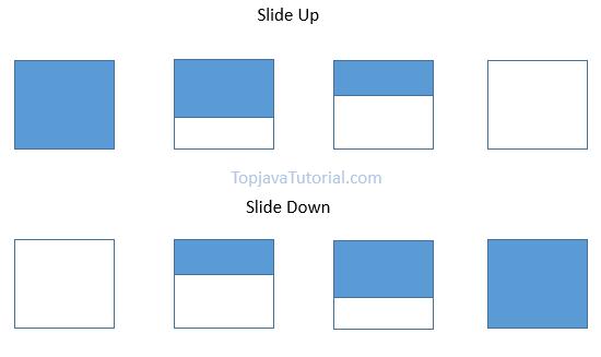 jQuery Slide Effect