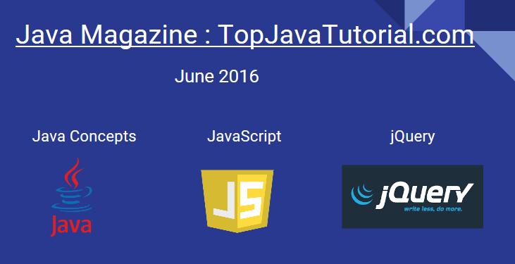 Java magazine June 2016