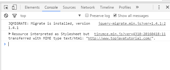 jquery not working
