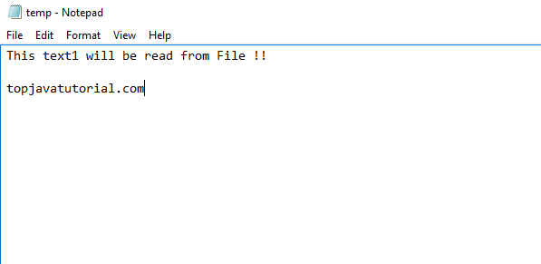 read file in java