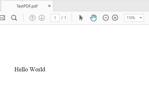 pdf using java