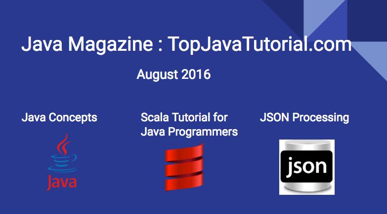 Java Magazine - August 2016