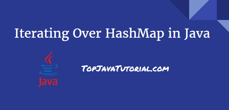 iterate over hashmap in java