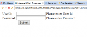 How to write custom validation in struts