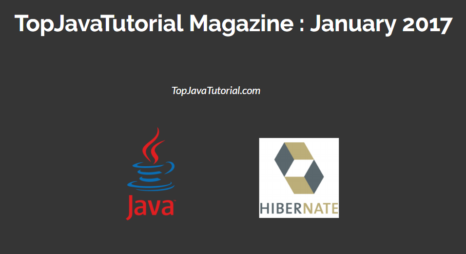 top java tutorial magazine january 2017