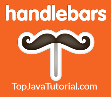 handlebars template tutorial - partials top java tutorial